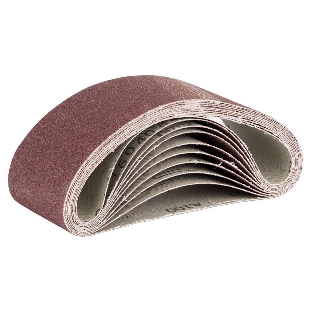 Лента шлифовальная бесконечная 10шт 75×457 зерно 100 SIGMA (9151101)