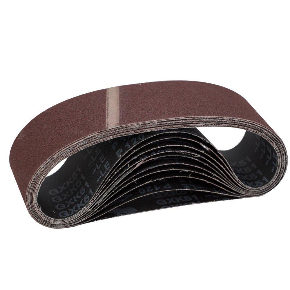 Лента шлифовальная бесконечная 10шт 75×533 зерно 120 SIGMA (9152121)