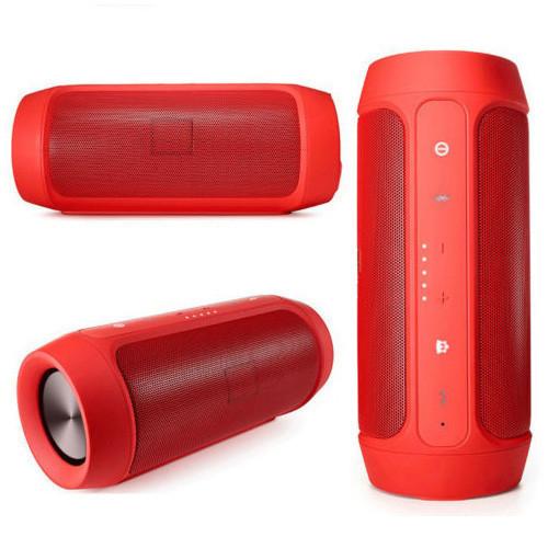 Портативная блютуз колонка, JBL Charge 2, (копия), влагозащищенная, цвет - красный