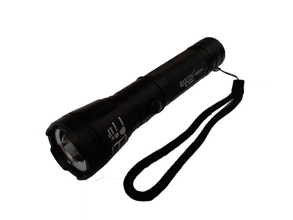 Подствольный фонарик с лазером Police BL-9840, 30000mW, охотничий оружейный фонарь
