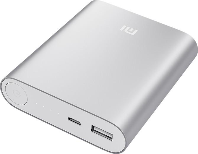 Внешний аккумулятор Xiaomi Power Bank 10400mAh Silver