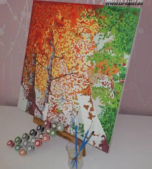Картина по номерам Menglei  Ваза с розами. Ван Гог , фото 2
