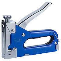 Степлер с регулятором для скоб 4-14мм (синий) SIGMA (2821011), фото 1
