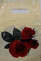 Пакет банан 20*30 Троянда пп