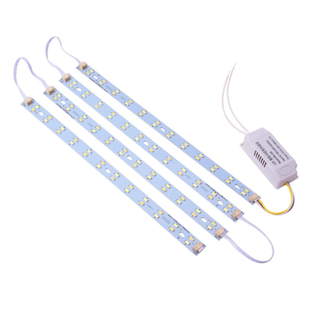 Ремкомплект 36w (2 цвета)LED для армстронг, линейки для замены люминесцентных ламп Т8 в растровых светильниках
