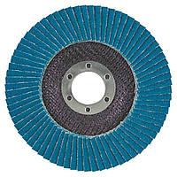 Круг лепестковый торцевой Т27 (прямой) ZA Ø125мм P80 Sigma (9173041)