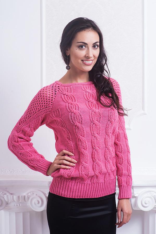 e4c0a558184 Модная женская кофта красивой вязки из качественного материала от ...