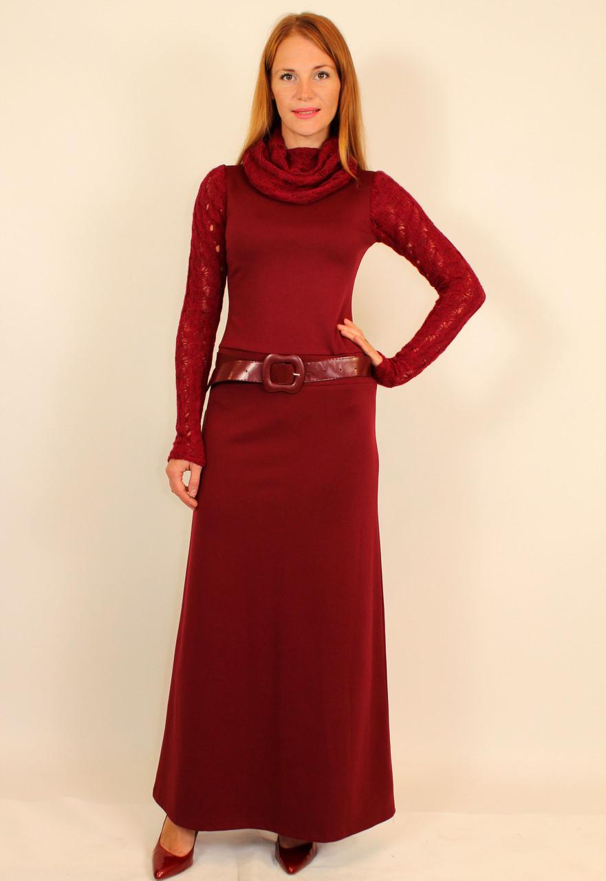 8be9a62aa8a Зимнее длинное платье 42-48 р - Оптовый интернет-магазин по продаже женской  одежды