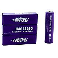 Аккумуляторная батарея BATTERY 18650 Pointed Efest 2500мАч