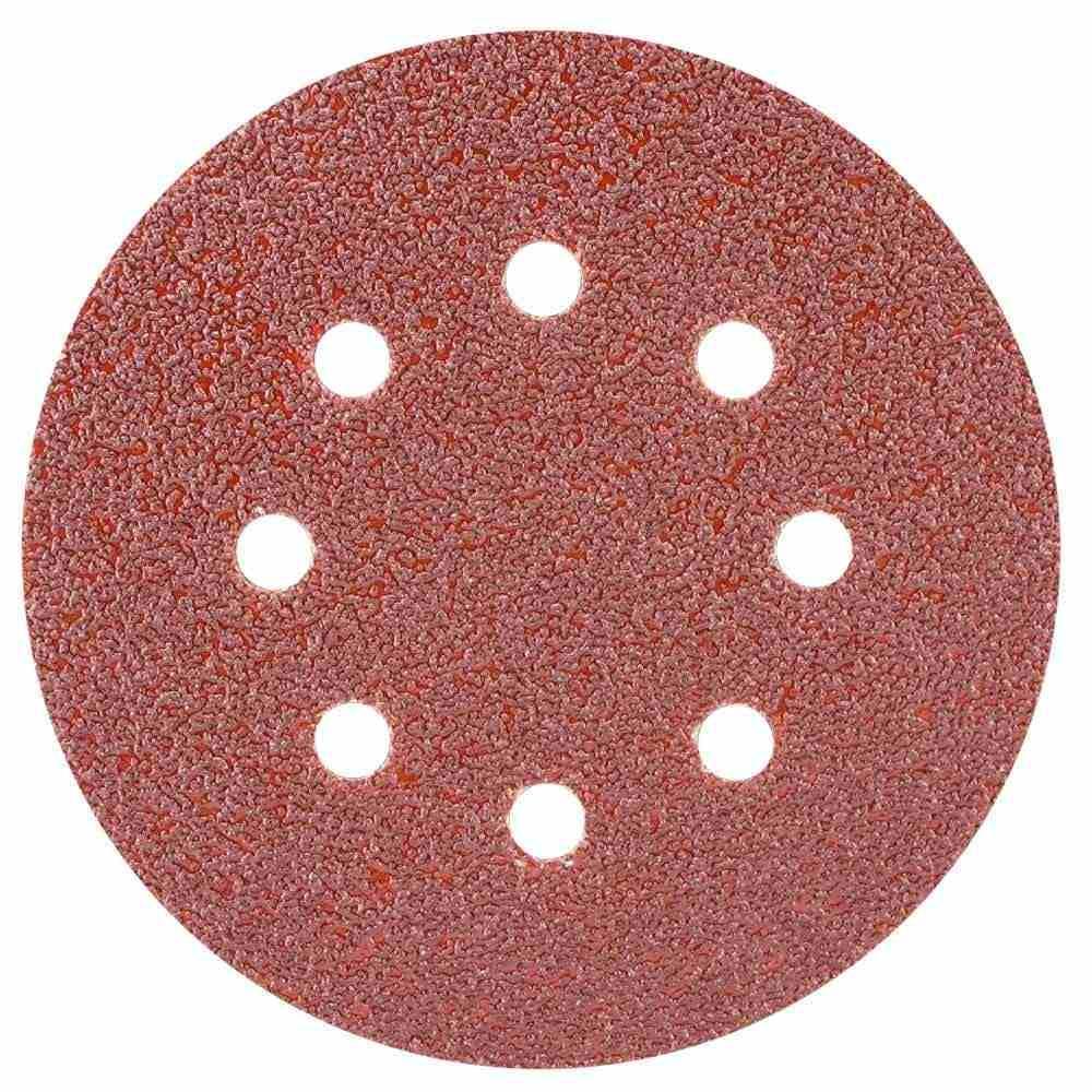 Шліфувальний круг 8 отворів Ø125мм P40 (10шт) Sigma (9122631)