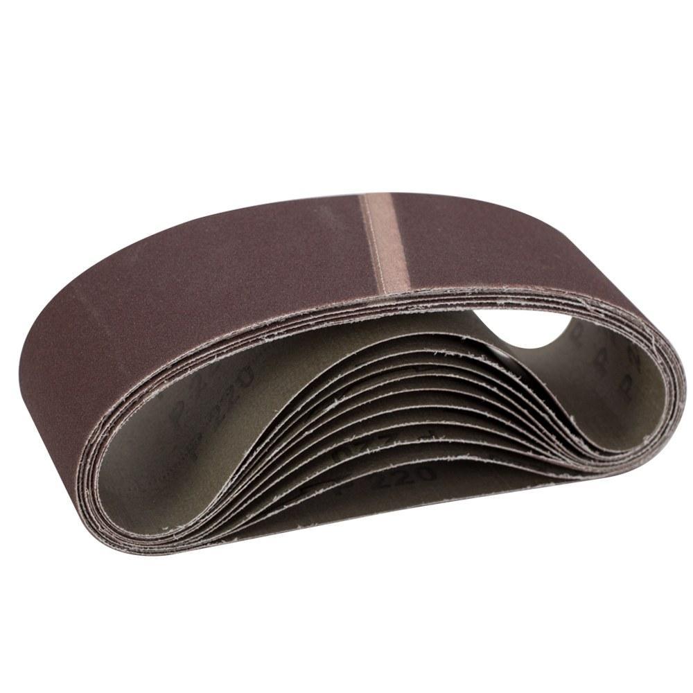 Лента шлифовальная бесконечная 75×457мм P180 (10шт) SIGMA (9151161)