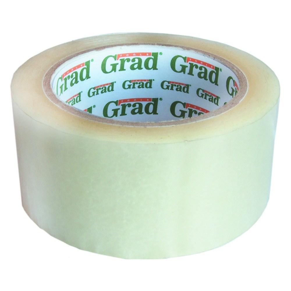 Скотч упаковочный прозрачный 45мм×500м GRAD (8401085)