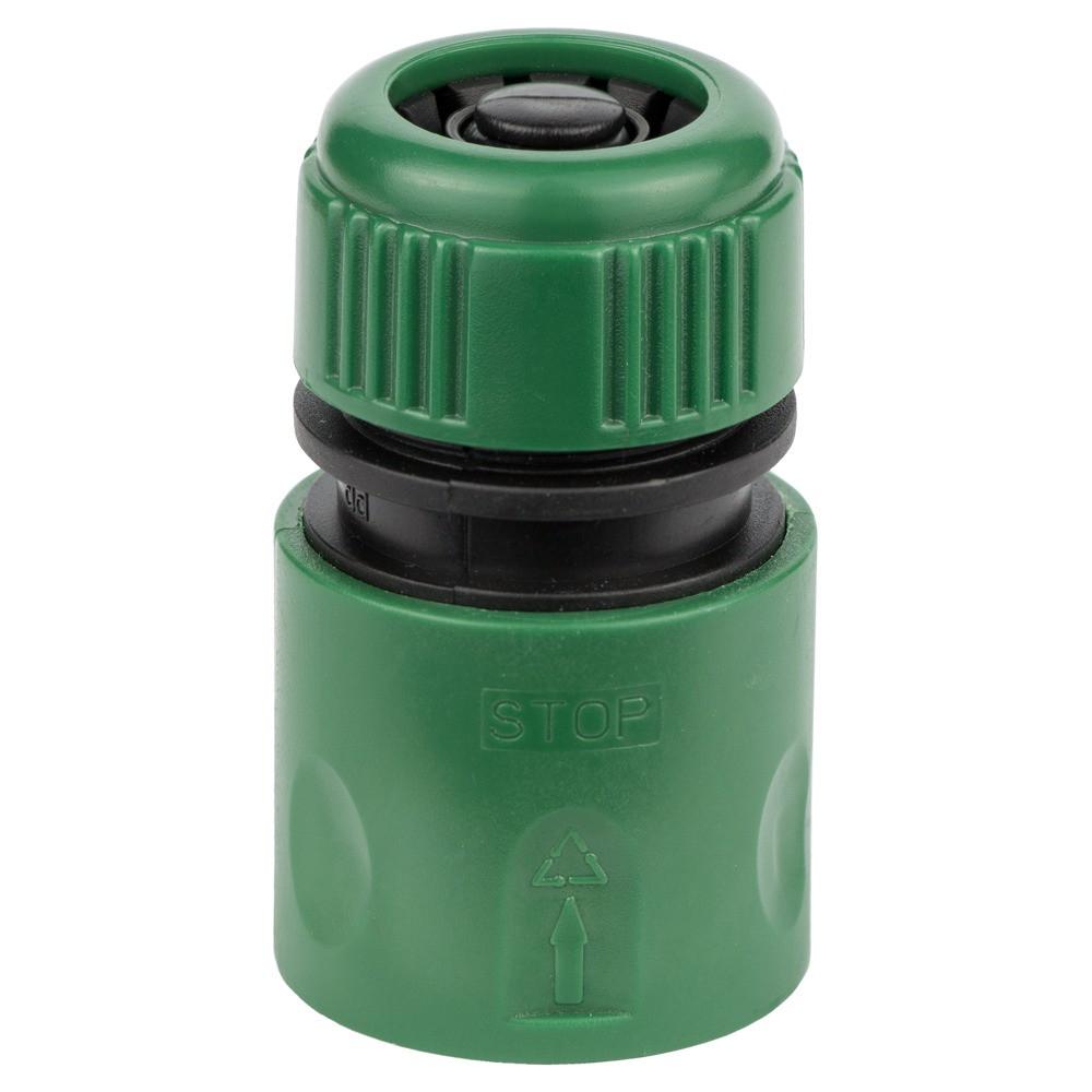 """Коннектор 1/2"""" быстросъёмный аквастоп для шланга 1/2"""" GRAD (5016115)"""