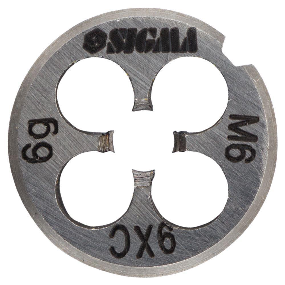 Плашка М6×1,0мм SIGMA (1604171)