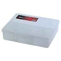 Органайзер пластиковый прозрачный 6 отсеков 190×160×50мм ULTRA (7417042)