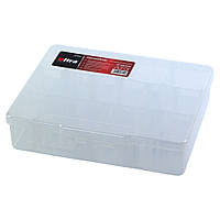 Органайзер пластиковый прозрачный 14 отсеков 195×160×50мм ULTRA (7417052)