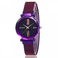 Женские наручные часы Sky Watch Фиолетовый