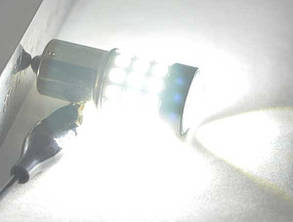 Светодиодная лампа SLP LED с цоколем 1156(P21W)(BA15S)(R5W) 39-2835 SMD Белый, фото 2
