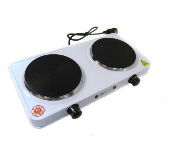 Электрическая плита Domotec MS-5822 Белая (М8908)