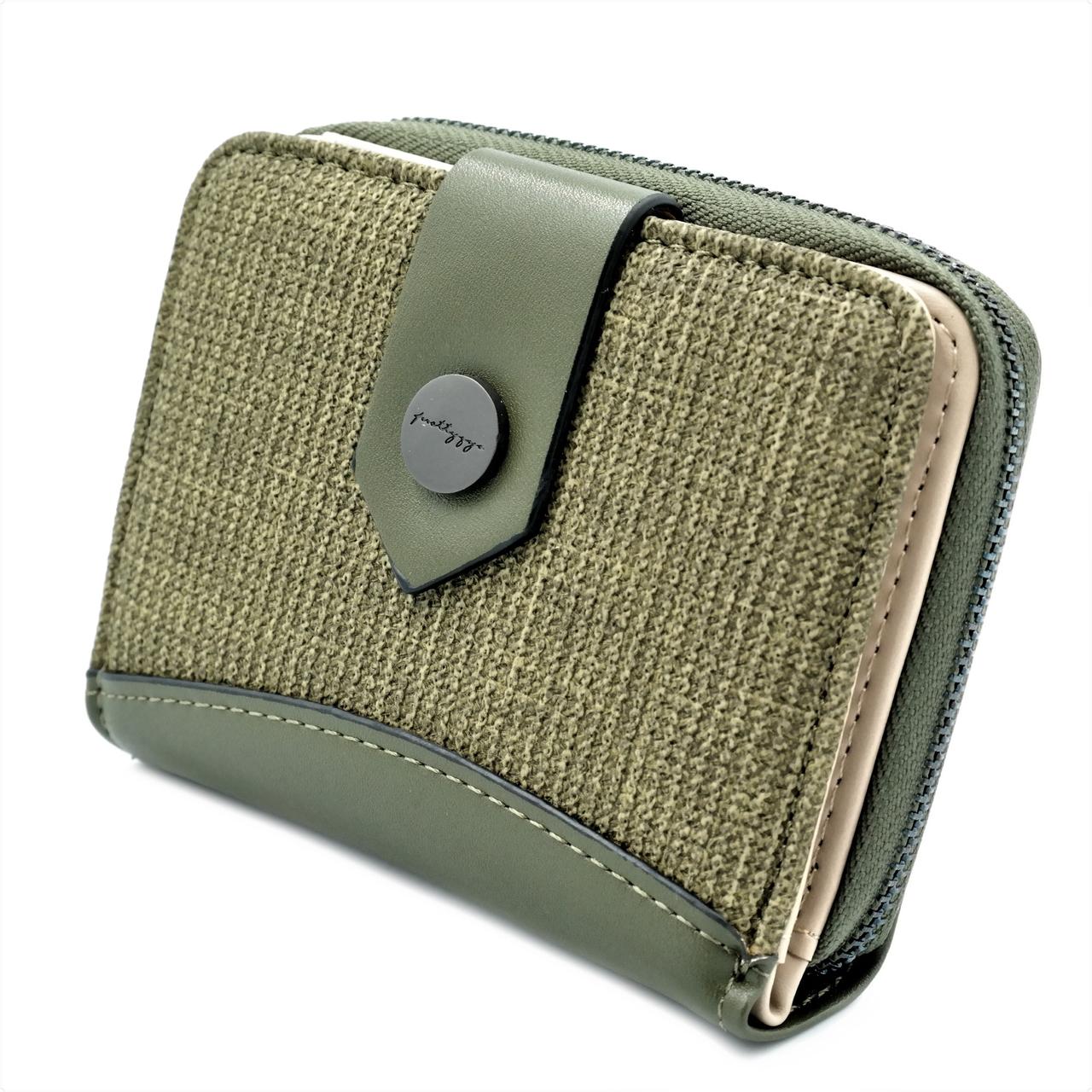 Женский мини кошелёк PT19-1297-4 Зелёный