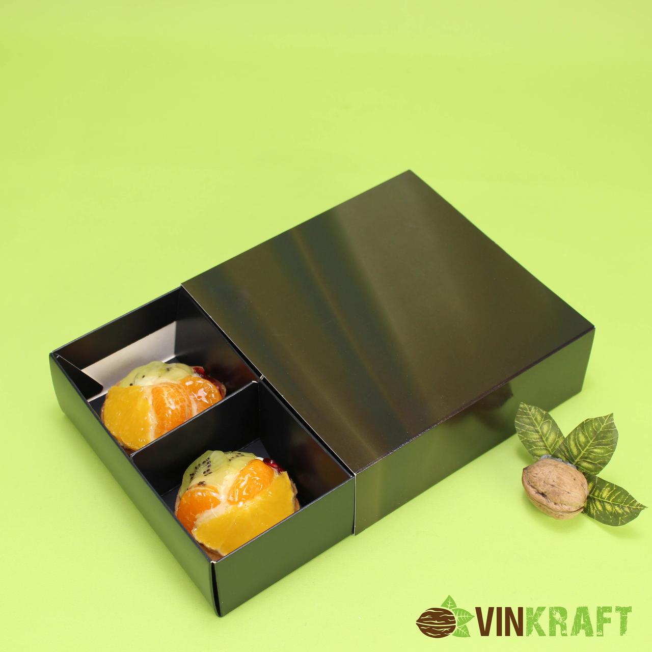 """Коробка 160*160*55 для печенья, сухофруктов б/окна, """"Шоколад"""""""