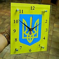 """Часы настенные """"Тризуб"""" , фото 1"""
