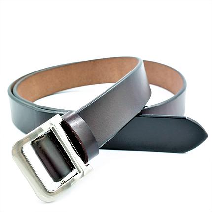 Женский кожаный ремень Le-Mon 110-115 см Тёмно-коричневый (nwzh-30k-0054), фото 2