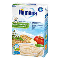 Каша молочная Humana с гречкой и яблоками, 200 г 77558 ТМ: Humana