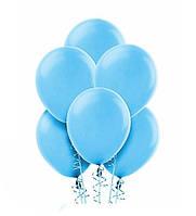 Шар Воздушный Голубой Цвет 12 Латексные Шары Голубые Шарики Надувные Воздушные Летекс 004853