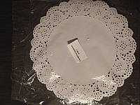 Ажурная бумажная салфетка Ø 260 мм (упаковка 100 шт)