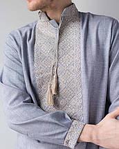 Мужская вышитая рубашка  с орнаментом, фото 3