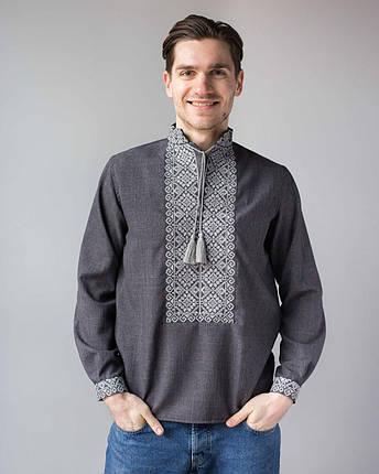 Вышитая мужская сорочка, фото 2