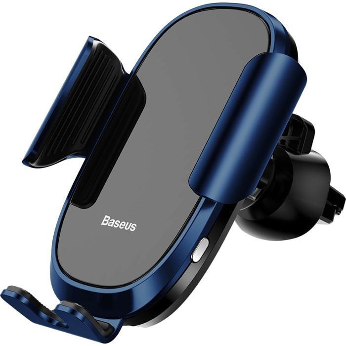 Автомобильный держатель Baseus Smart Car Mount Cell Phone Holder Blue (SUGENT-ZN03)