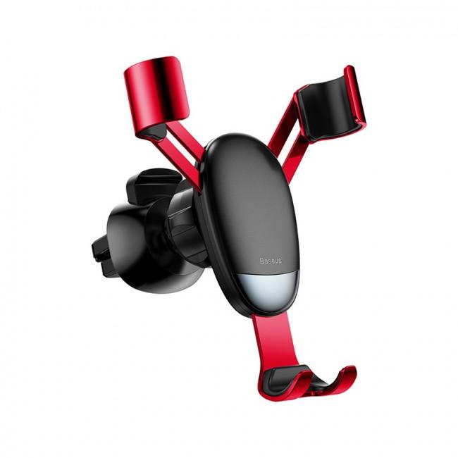 Автомобильный держатель Baseus Mini Gravity Holder Red (SUYL-G09)