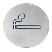 Табличка информационная самоклеящаяся Место для курения, Ø160 мм 663820 Hendi (Нидерланды)