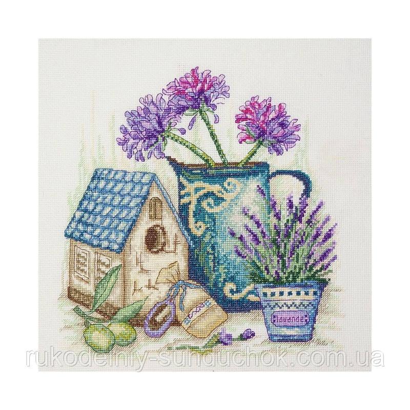 Набор для вышивания крестом ТМ Марья Искусница 11.004.08 Цветы Прованса