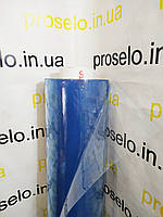 Пленка ПВХ СИЛИКОН. 200 мкм плотность. Рулон 78 м. Ширина 1.50м. Прозрачная. Мягкое стекло