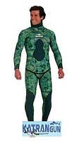Гидрокостюм для подводной охоты Beuchat Mundial Camo Green 5 мм, размер XL