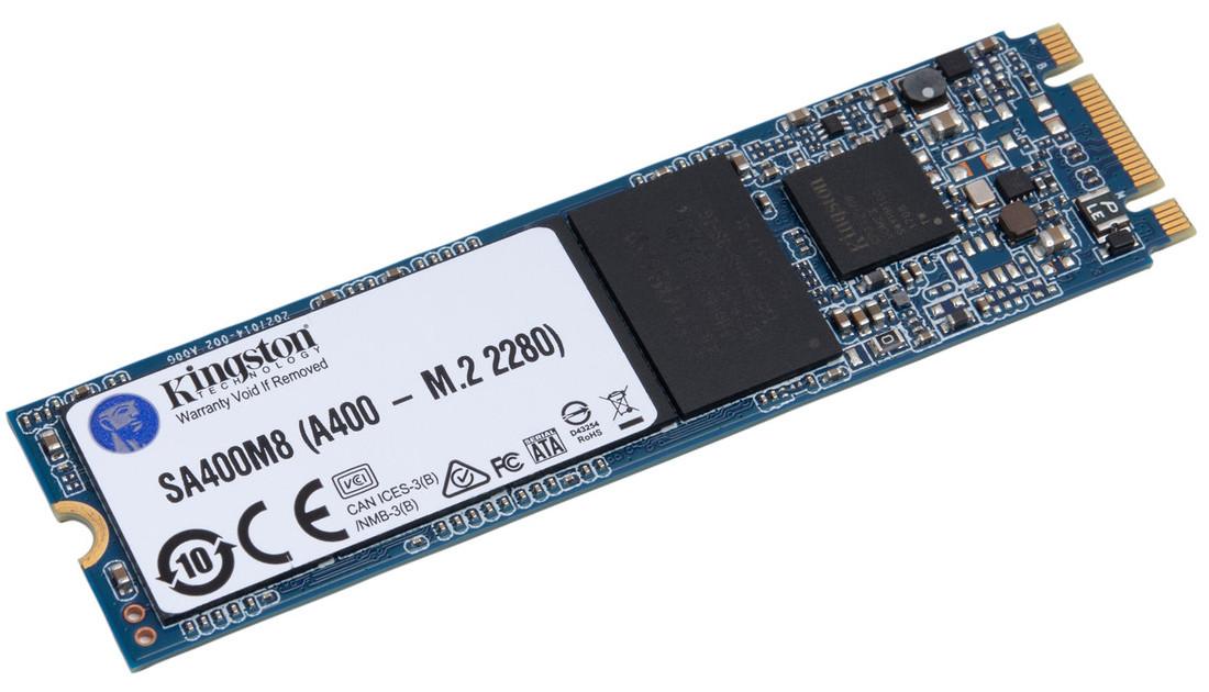 "SSD 120GB Kingston A400 2.5 ""M.2 2280 SATA III TLC (SA400M8 / 120G)"