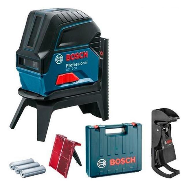 Лазерный нивелир Bosch GCL 2-50 Professional (20 м, с приемником - 50 м) (0601066F02)