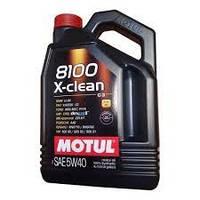 Масло моторное Motul 8100 x-clean 5w40 4L