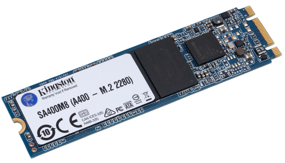 "SSD Kingston 240GB A400 ""M.2 2280 SATA III TLC (SA400M8 / 240G)"