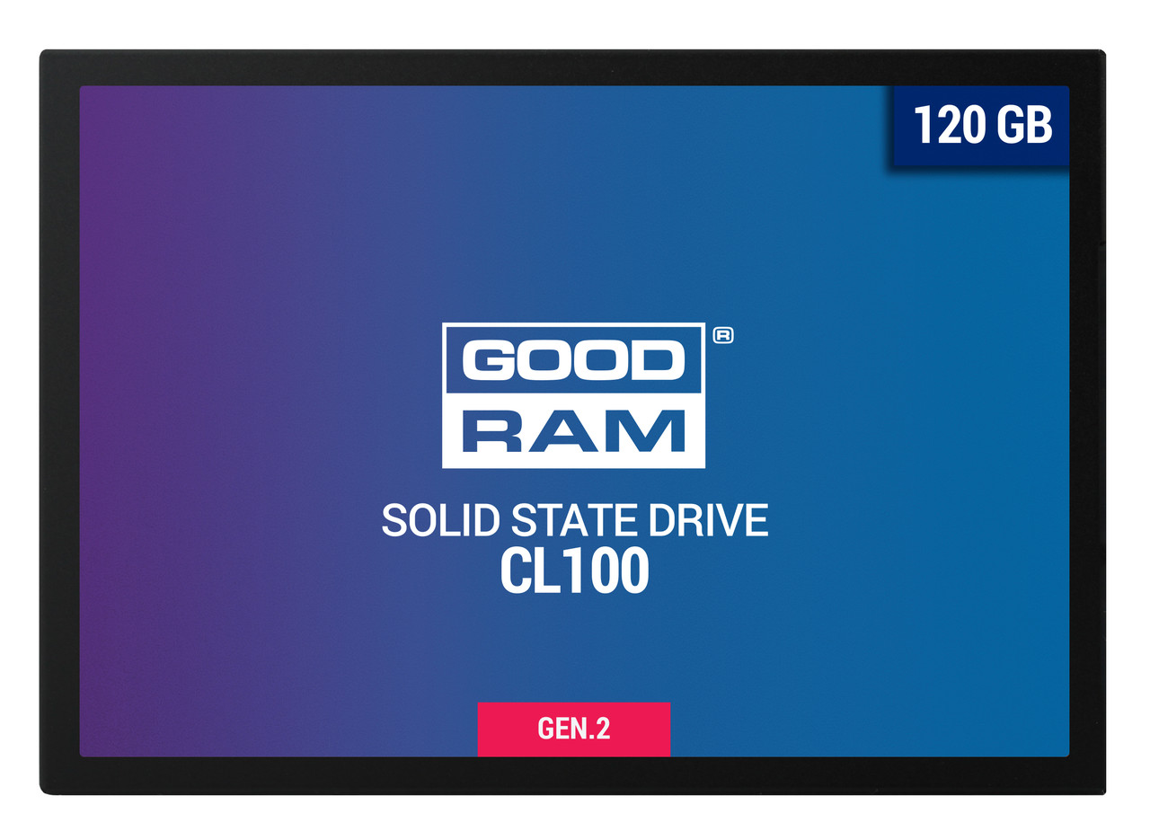 SSD Goodram CL100 Gen.2 120GB (SSDPR-CL100-120-G2)