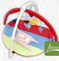 Коврик игровой с дугами и подвесными игрушками Собачка + код MMA-KI-SO