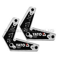 Уголки магнитные для сварки YATO  60*, 90*, 120* 10 кг (YT-08721) 2 шт