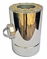 Ревизия с теплоизоляцией нерж/оц Версия Люкс толщина 0.8 мм D 100-300 мм
