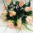 Искусственные розы с осокой., фото 5