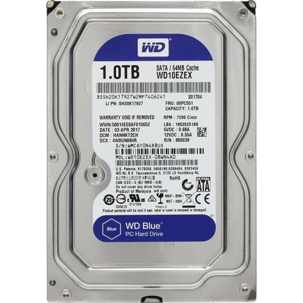 HDD Western Digital WD10EZEX Blue