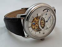 Мужские часы Vacheron Constantin - tourbillon, механика с автозаводом, цвет корпуса серебро