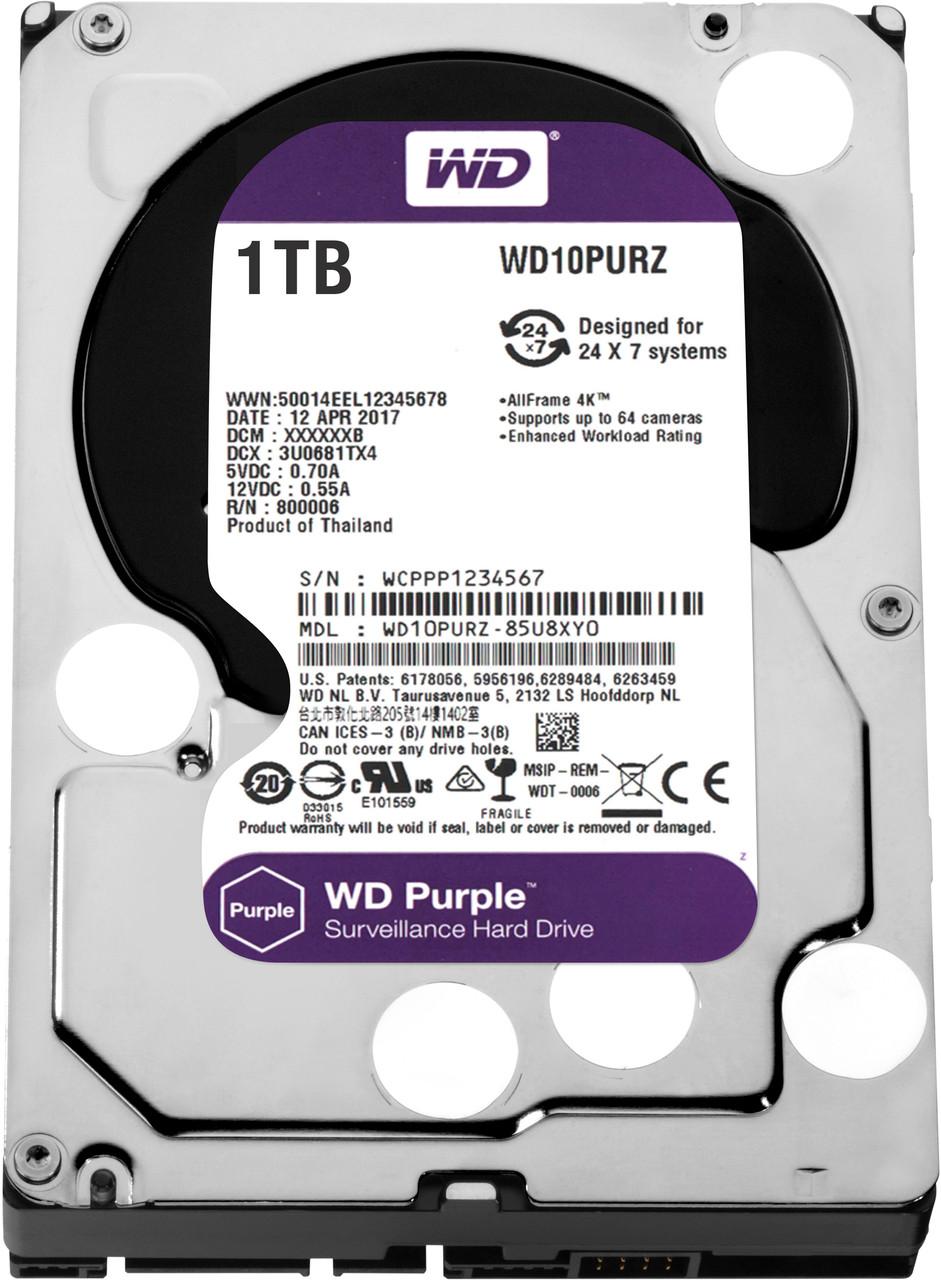 HDD Western Digital Purple WD10PURZ